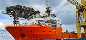Debmarine's new recovery vessel, AMV3 nears completion
