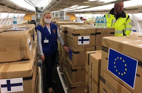 Finland and EU supports Namibia's COVID-19 fight with much needed PPEs amid surge of new infections