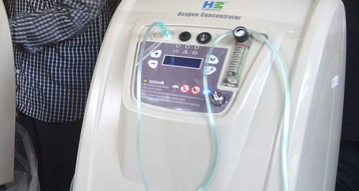 Private companies' Breathe Namibia initiative to donate oxygen concentrators