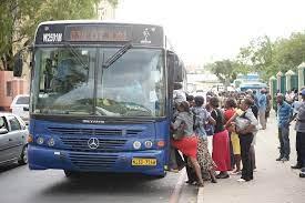 City of Windhoek bus fares increased