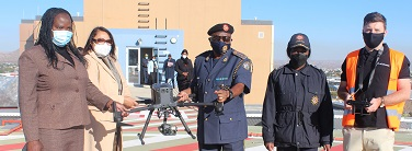 Big brother is watching you! – Nampol receives drone donation to boost policing operations