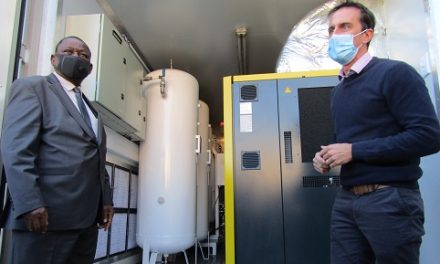 Private sector secures more oxygen for critical Covid-19 patients – Capricorn Group donates 63 tonnes of medical oxygen