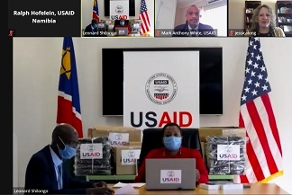 U.S donates high tech equipment to health ministry