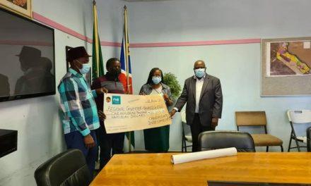 Fishing companies donate to the Kavango West Region