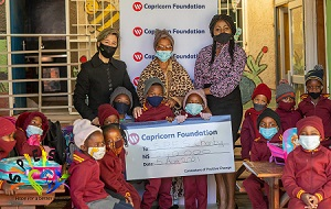 Private sector supports Kindergartens in Katutura's informal settlements affected by lockdown