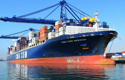 Cyprus, Ulsan container vessels dock for the first time at the port of Walvis Bay