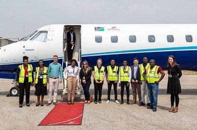 FlyWestair takes inaugural flights to Rundu, Katima