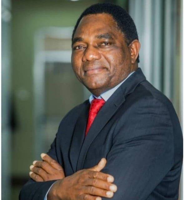 Hakainde Hichilema sworn in as Zambian President