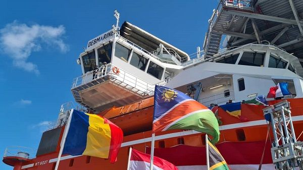 World's biggest diamond mining vessel on its way to Cape Town before Namibian commissioning