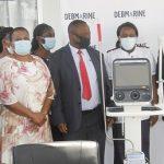 Debmarine donates additional ventilators to health ministry