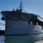 US navy ship makes Walvis Bay courtesy call on South Atlantic voyage