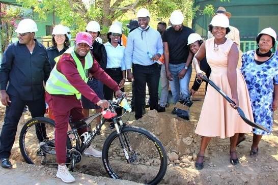 City of Windhoek starts construction on EBikes4Windhoek lanes