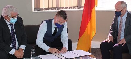 German Embassy and local NGO ink funding agreement to support the country's emergency medical assistance