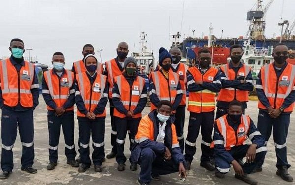 NUST students visit Walvis Bay harbour to learn more about port operations