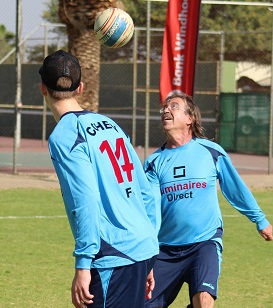 Cohen dominates at fistball tourney held over weekend