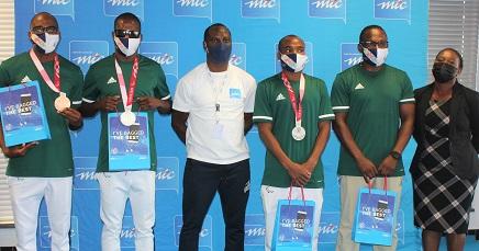 Paralympian medalists rewarded by digital enabler