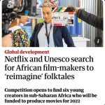 Filmmakers urged to pitch their stories for Netflix competition