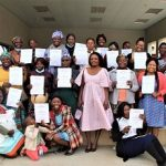 28 women equipped with sewing skills