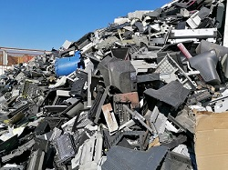 International E-waste Day: A 'mountain' of e-waste in Namibia