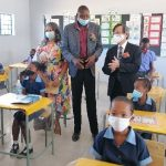 Khomas primary schools inaugurate new classrooms, courtesy Govt of Japan