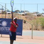 Junior tennis finals on this weekend