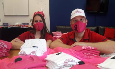 Purchase pink items to help raise funds for cancer