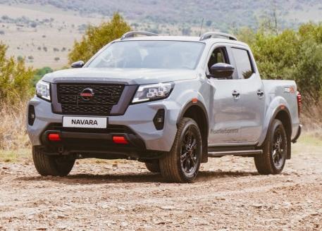 Nissan's all new Navara shipped into Africa